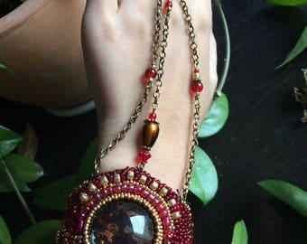 Bracelet with ring - Dragon Princess