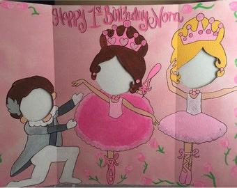 Ballerina Party Decor- Ballerina Birthday- Ballet Party Prop- Ballerina Photo Op- Ballet Decorations- Dance Party Cutout- Ballerina Cutout