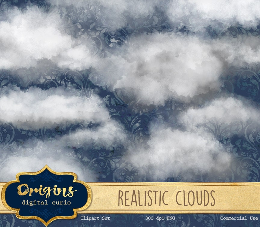 Real Rain Cloud realistic clouds clipart photoshop cloud overlays png clip