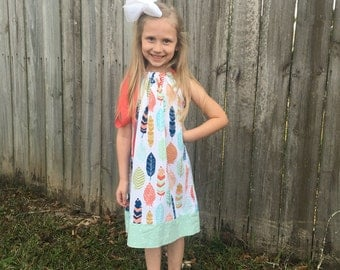 Toddler Dress - Girls Summer Dress - Girl Summer Outfits - Toddler Girl Clothes - Pillowcase Dress - Spring Dress - Girls Clothing