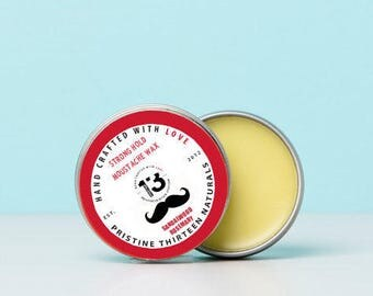 Sandalwood Rosemary Moustache Wax