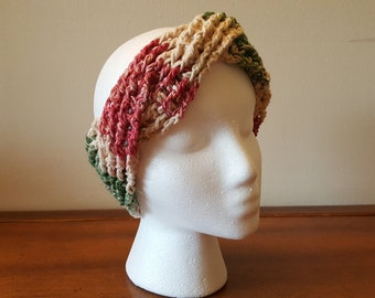 Knotted Cotton Ear Warmer