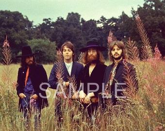Fabric Art Quilt Block The Beatles  BEAT84 - FREE Shipping