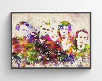 The Clash In Color Poster, Home Decor, Gift Idea
