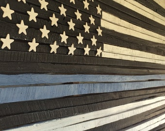 Wooden American Flag Wall Hanging american flag wood american flag wood flag american flag