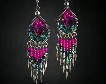 Silk Thread Earrings silk thread silk thread jewelry thread earrings silk earrings earrings silk thread earring handmade earrings jewelry