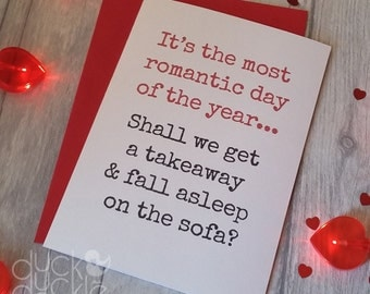 Valentine's Card - It's the most romantic day of the year...