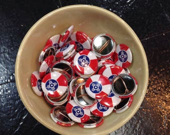 Wichita Flag Buttons