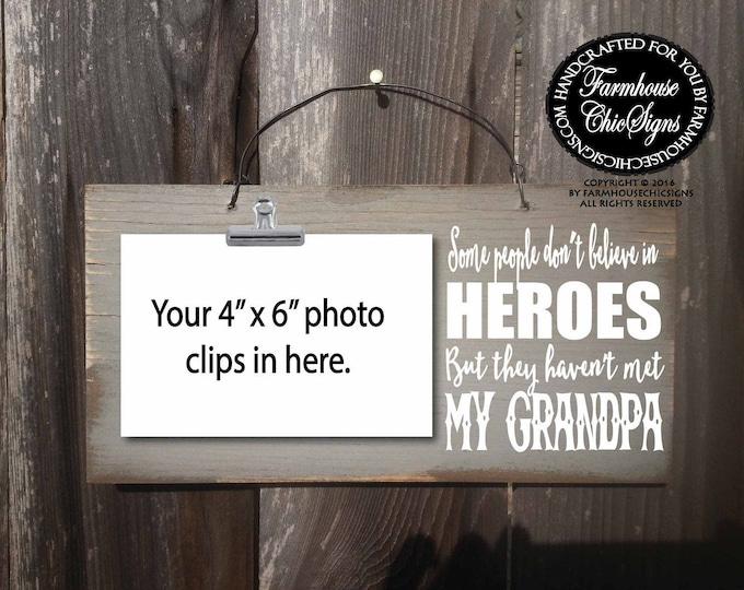 grandpa, grandpa gift, gift for grandpa, grandpa Christmas gift, grandpa birthday gift, grandpa sign, grandpa picture frame