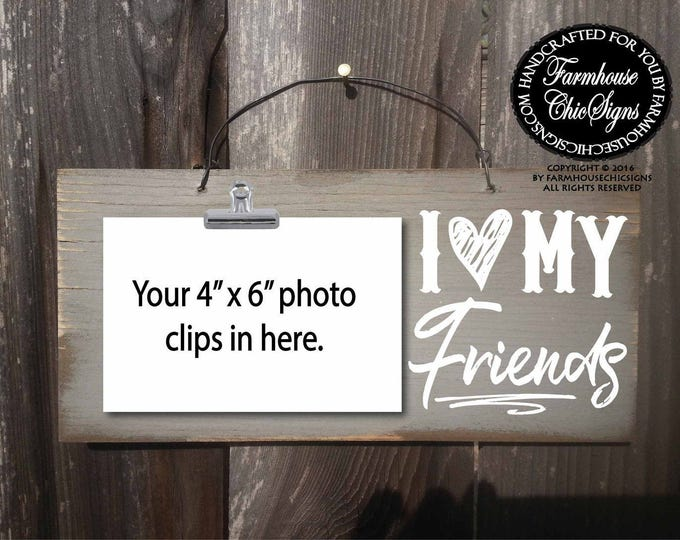 friends, friendship gift, gift for friend, gifts for friends, Christmas gift for friend, birthday gift for friend, friend sign
