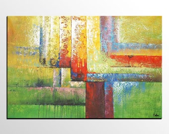 Abstract Painting, Original Art, Abstract Canvas Art, Abstract Wall Art, Canvas Painting, Living Room Wall Art, Acrylic Art, Modern Art