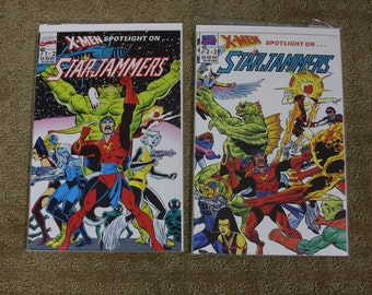 X-men Spotlight on... Starjammers 90's complete comic set