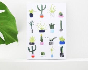 Mini Plant Notebook - A6