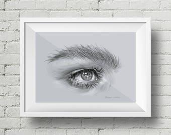 Eye Illustration PRINT