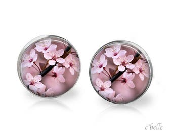 Earrings cherry blossom 52