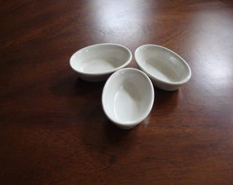 TWA Airlines Ironstone Side Dishes Made in Korea (3)!