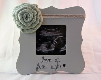 love at first sight frame, first time parents, pregnant gift for new mom gifts
