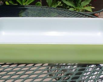 Pyrex 232 Rectangular Lime Green Baker / Casserole Dish