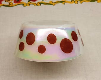 VERY RARE Federal Moonglow Dots Cereal Bowl