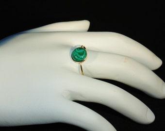 Marvelous Malachite Ring