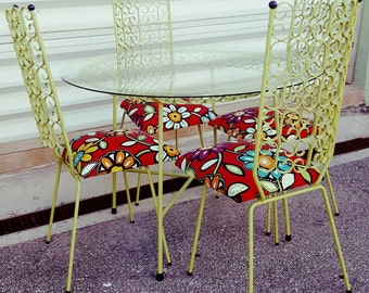 Mid Century Modern Granada By Umanoff Patio Set Vintage 1960u0027s Rarer Find,  Highly Stylized,