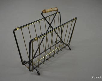 Retro Magazine Rack
