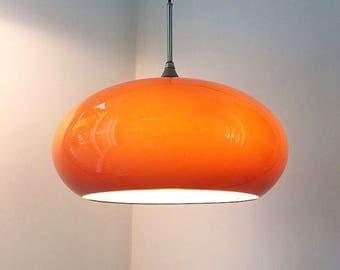 Beautiful italian design ceiling light by Guzzini.