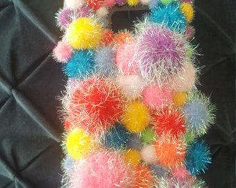 Bright Pom-Pom Phone Case