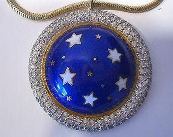 Stellar Star Pendant by Nettie Rosenstein