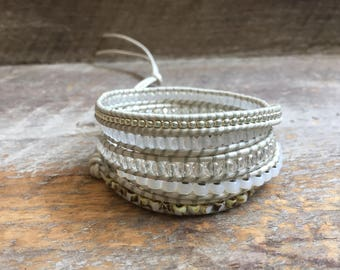 Gracie Beaded Wrap Bracelet