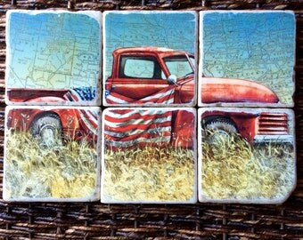 Vintage Truck Coasters