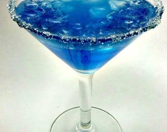 Blue Moon Martini- Fake Food that Looks Real!