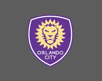 Full Color Orlando City Soccer - Die Cut Decal/Sticker