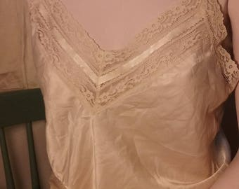 Christian Dior Pale Peach Camisole - Bust 34
