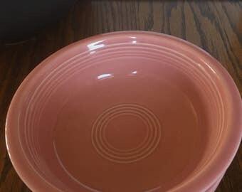 3  fiestaware bowls