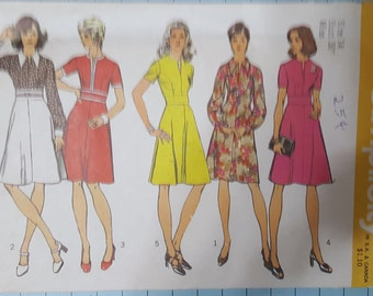 Simplicity 5500 Misses Dress Size 14 (Bust 36)