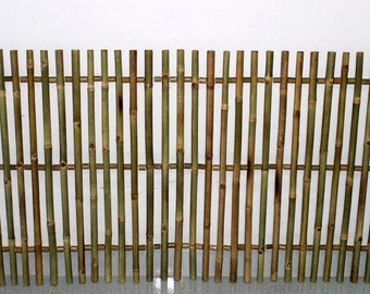Bamboo Picket Rolled Fence, Even Top, 5'L x 3'H, NBF-36E