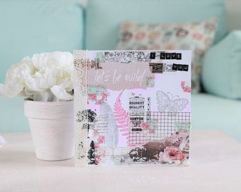 Mother's day flowers and Butterfly card
