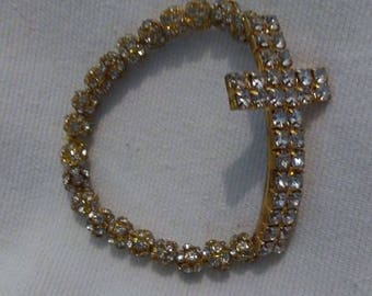 Gold Plated Cross Bracelets