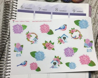 Spring Blooms Decorative Stickers