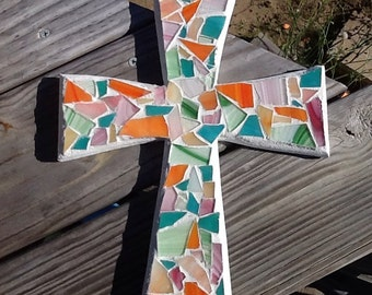 Med mosaic cross