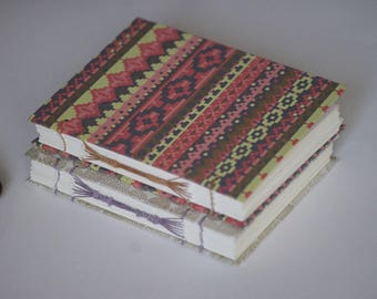 Journal - hand-bound with Indian and Japanese papers