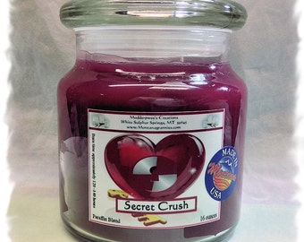Secret Crush Paraffin Container Candle