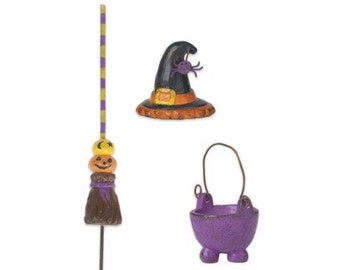 Witch Accessories Set of 3