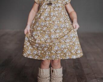 Short Sleeve Carolina Dress - without collar