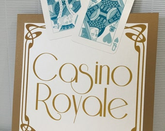 Casino | Playing Cards | Wedding Table Names/Numbers