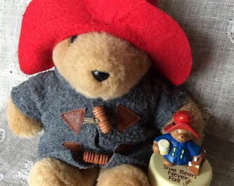 Vintage Paddington Bear / Eden Toys Paddington Bear / Free Shipping