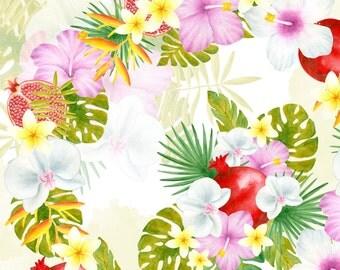 Tropical flower bouquet Watercolor flowers clipart Tropical clipart Flowers illustation hibiscus clipart bouquet orchid clipart hand painted