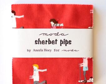 Sherbert Pips by Aneela Hoey for Moda Charm Pack OOP HTF
