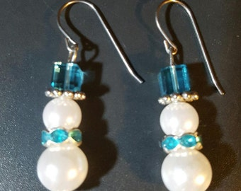 Snowman Earrings33